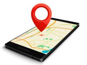 GPS откриване на местоположение